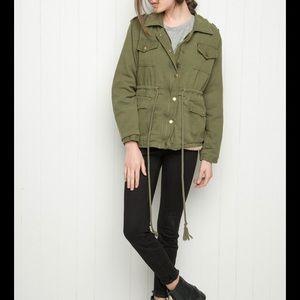 Brandy Melville Doris jacket sz s/m in green
